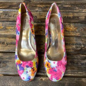Madden Girl Floral Heels